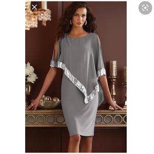 NWOT Midnight Velvet Dress 12